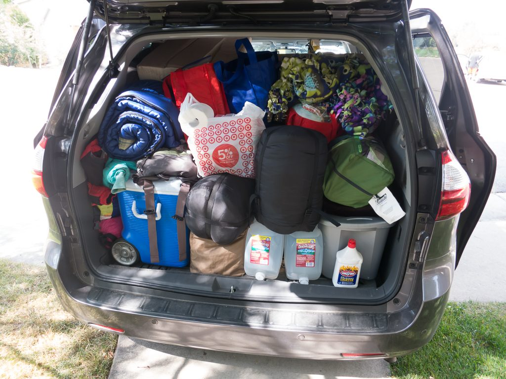 Camping with a toddler takes...stuff
