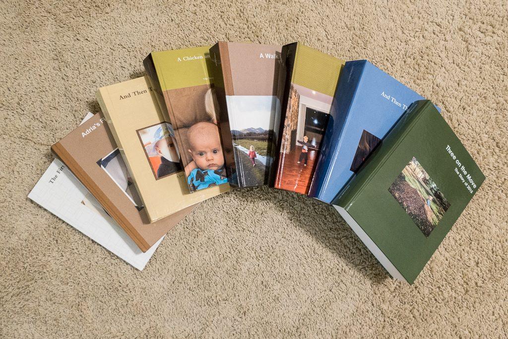 There are (Adria's age + 1) books